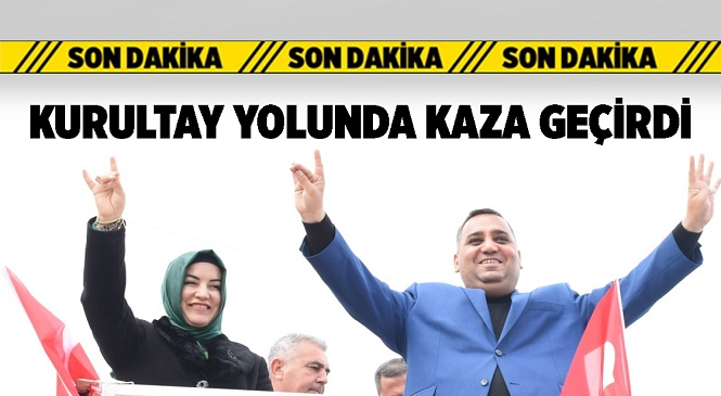 Mersin'in Tarsus İlçesi Önceki Dönem Belediye Başkanı Şevket Can ve Eşi Trafik Kazası Geçirdi
