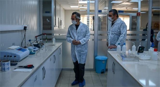 MESKİ Laboratuvarına Türkak'tan Tam Not