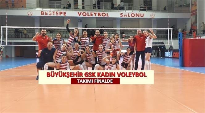 Gsk Voleybol Takımı Tvf Spor Lisesi'ni 3-0 Yendi