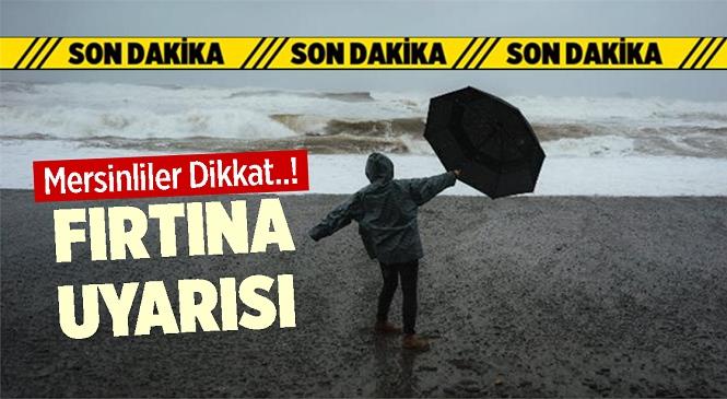 Akdeniz'de Fırtına Bekleniyor!