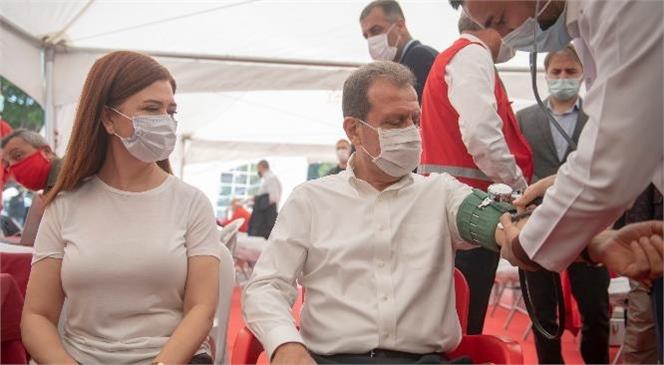 Başkan Seçer, Kan ve Kök Hücre Bağış Kampanyasını Başlattı