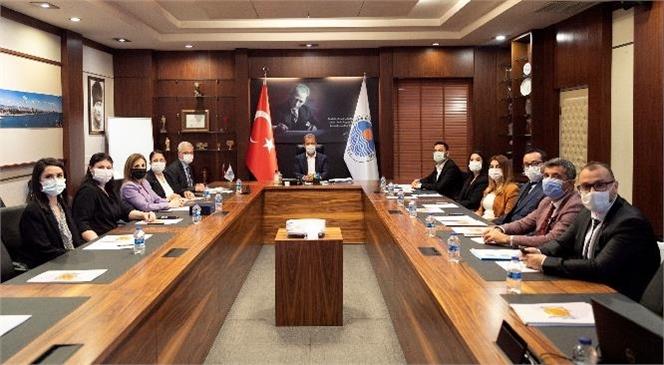 İşgücü Piyasası Koordinasyon Kurulu'ndan Başkan Seçer'e Ziyaret