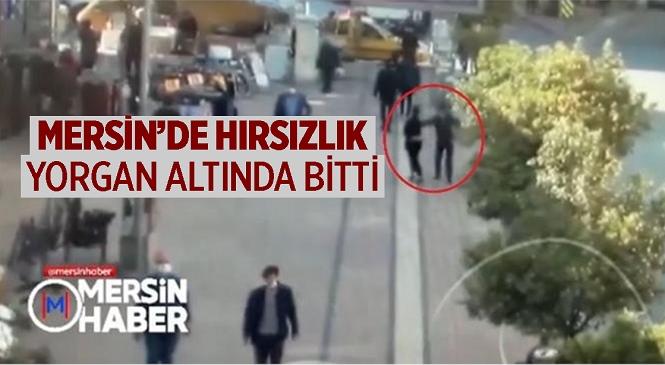 Mersin'de Kadının Boynundan Altın Kolyeyi Çalan Zanlı Yorganın Altında Yakalandı