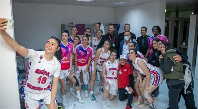 Büyükşehir Kadın Basketbol Ekibi Play-off'a Bir Adım Daha Yaklaştı