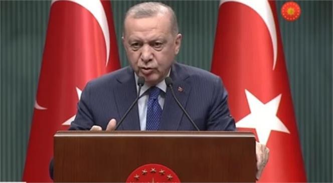 Cumhurbaşkanı Erdoğan Değerlendirme Toplantısı Sonrası Açıklamada Bulundu