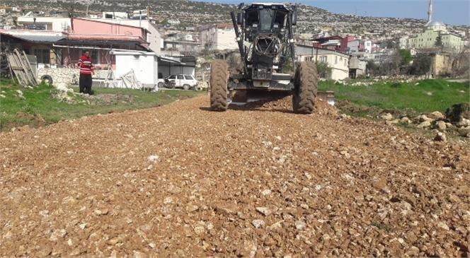 Gülnar Belediyesi, Yol Bakım Onarım ve Yol Yapım Atağını Sürdürüyor