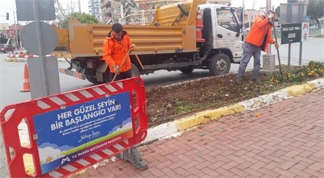 Büyükşehir'den Tarsus'ta 475 Bin M2'lik Alanda Çalışma