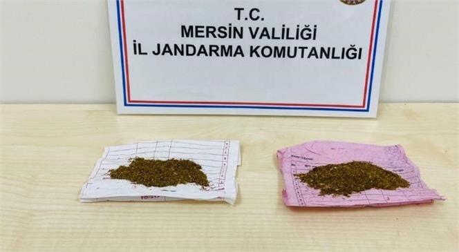 Mersin Jandarma Komutanlığı Ekipleri Uyuşturucu Tacirlerine Göz Açtırmıyor