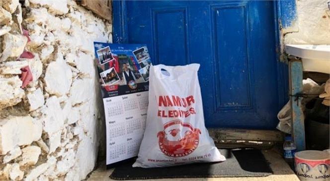 Anamur Belediyesinden 5 Bin Haneye Gıda Paketi Dağıtımı
