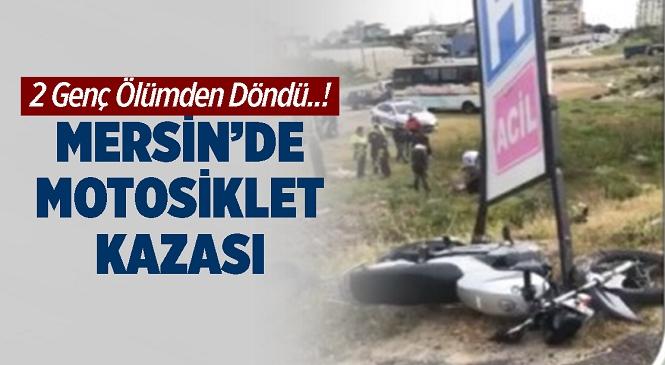 Mersin'in Anamur İlçesinde Meydana Gelen Trafik Kazasında 2 Kişi Yaralandı