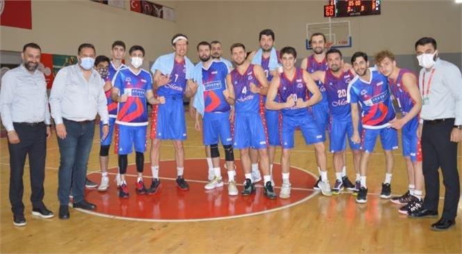 Büyükşehir Gsk Erkek Basketbol Takımı Asya Kartalları'nı 88-57 Yendi