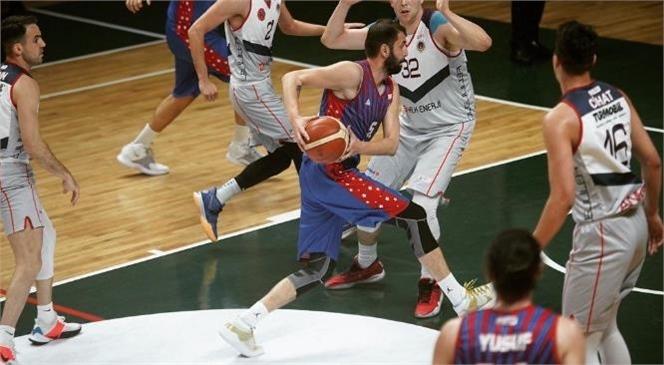 Büyükşehir Gsk Erkek Basket Takımı, Mersin'e 1. Lig'e Yükselerek Döndü