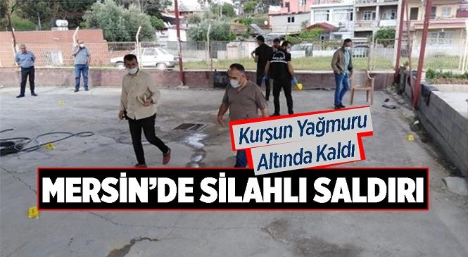 Tarsus Oto Galericiler Sitesinde Bir Kişi Silahla Bacağından Vuruldu