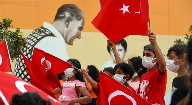 Büyükşehir'den 23 Nisan'ın 101. Yılına Yakışan Kutlama