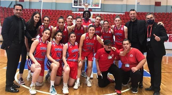 Büyükşehir Gsk Kadın Basket Ekibi, Ceyhan Belediyesi'ni 66-100 Yendi