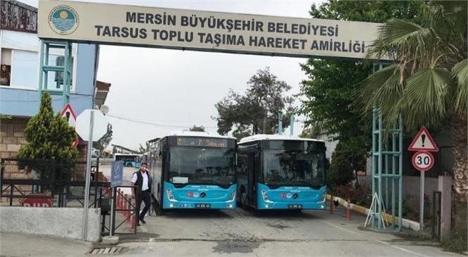 18 Günlük Kısıtlama Nedeniyle Tarsus'ta Büyükşehir Toplu Taşıma Araçlarının Çalışma Saatleri Yenilendi