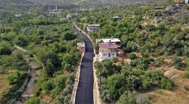 Büyükeceli Mahalle Yolu Asfaltlandı, Vatandaşlar Rahat Nefes Aldı