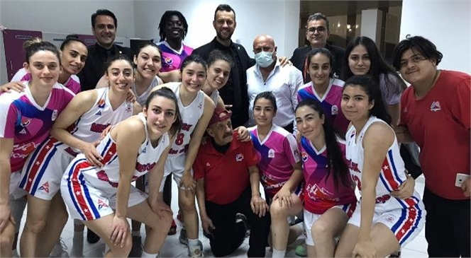 Mersin Büyükşehir Kadın Basketbol Takımı, Yalova Vip'i 85-76 Yendi