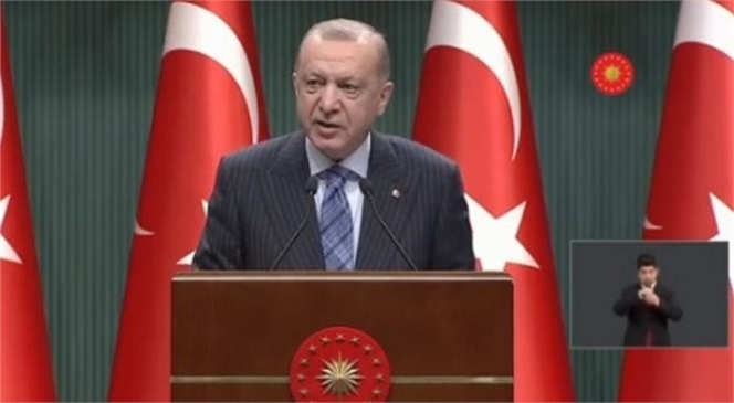 Cumhurbaşkanı Recep Tayyip Erdoğan Başkanlığında Toplanan Kabine Toplantısı Sona Erdi
