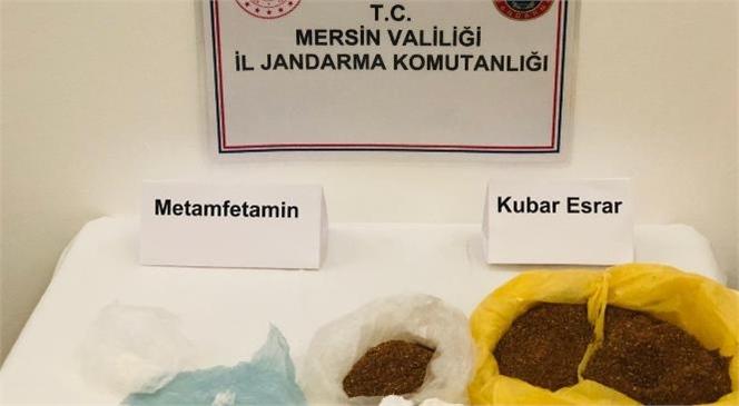 Mersin İl Jandarma Komutanlığı Ekipleri Tarafından Yapılan Operasyonlarda Çok Sayıda Uyuşturucu Madde Ele Geçirildi