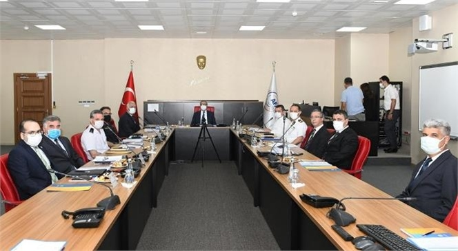 Güvenlik ve Acil Durumlar Koordinasyon Merkezi (Gamer) İl İzleme Değerlendirme ve Koordinasyon Kurulu Toplantısı Yapıldı