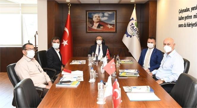 Tarsus Organize Sanayi Bölgesi Mayıs Ayı Yönetim Kurulu Toplantısı Gerçekleştirildi