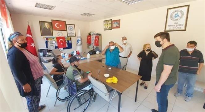 Ali Boltaç'tan Türkiye Sakatlar Derneği Tarsus Şubesi'ne Ziyaret