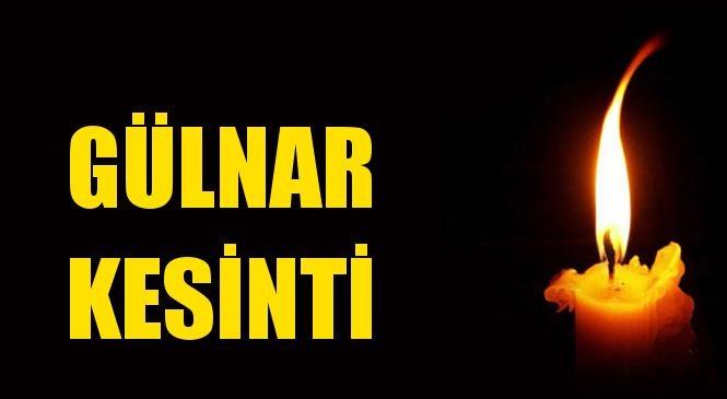 Gülnar Elektrik Kesintisi 28 Mayıs Cuma