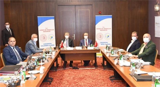 Çukurova Kalkınma Ajansı (ÇKA) Yönetim Kurulu 2021 Yılı Mayıs Ayı Toplantısı Yapıldı
