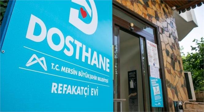 Mersin Büyükşehir, 'Dosthane'de 5 Ayda 258 Kişiyi Ağırladı