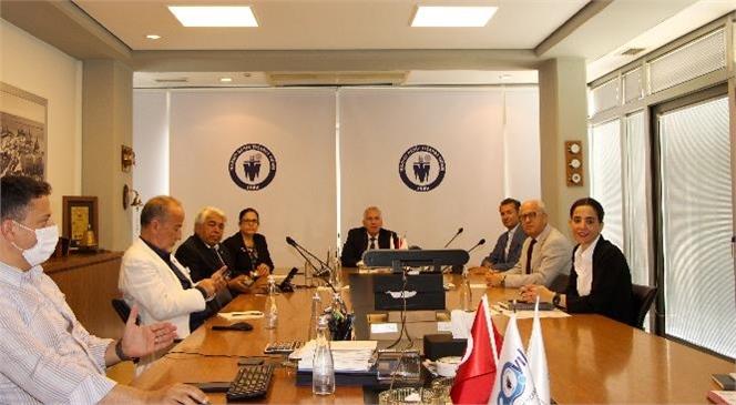 """Mersin Deniz Ticaret Odası (MDTO) İle Kıbrıs Türk Ticaret Odası (KTTO) Arasında """"Kardeş Oda"""" Protokolü İmzalandı."""