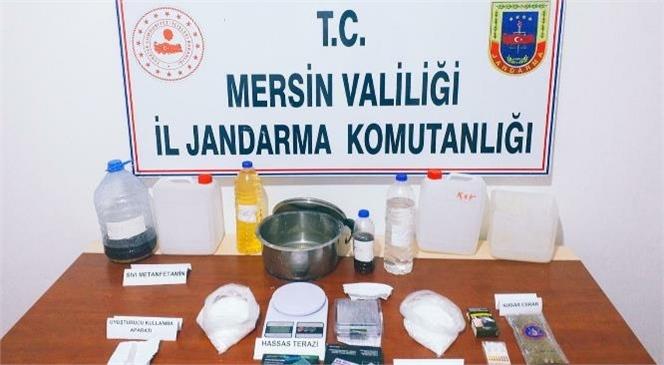 Mersin'de Uyuşturuculara Yönelik Operasyonda Biri İran Uyruklu 4 Şüpheli Yakalandı