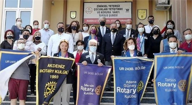 Ziçev Tarsus Şubesi'nin Duyu Bütünleme Odası Uluslararası Rotary 2430 Bölge Kulübü Tarafından Yenilendi