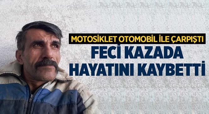 Mersin'in Anamur İlçesinde Meydana Gelen Kazada 45 Yaşındaki Ali Akça Hayatını Kaybetti