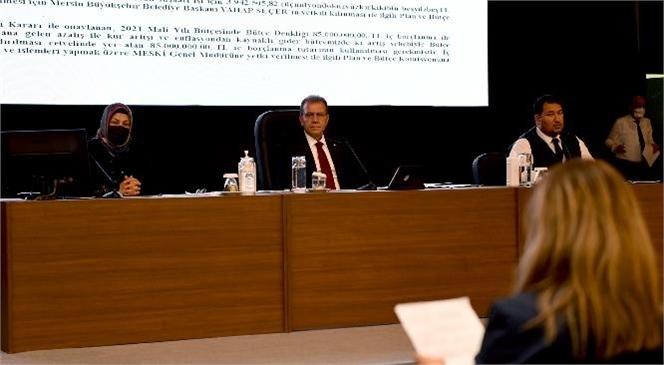 Başkan Seçer, Genel Kurul'da MESKİ'nin Yatırımlarını Anlattı