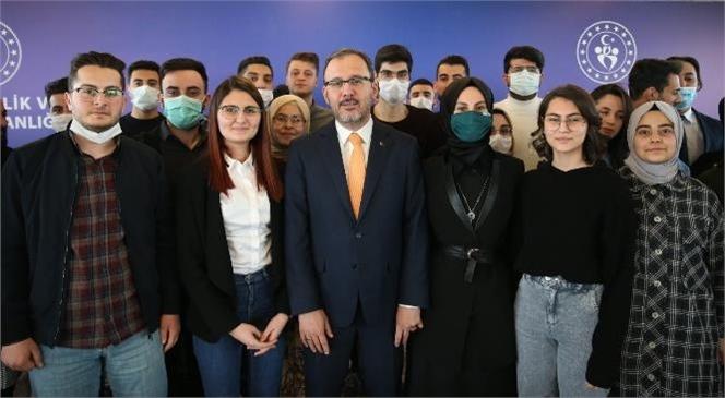 Gençlik ve Spor Bakanı Dr. Mehmet Muharrem Kasapoğlu, Haziran Ayı Burs ve Kredi Ödemelerinin 6 Haziran İtibarıyla Başladığını Duyurdu