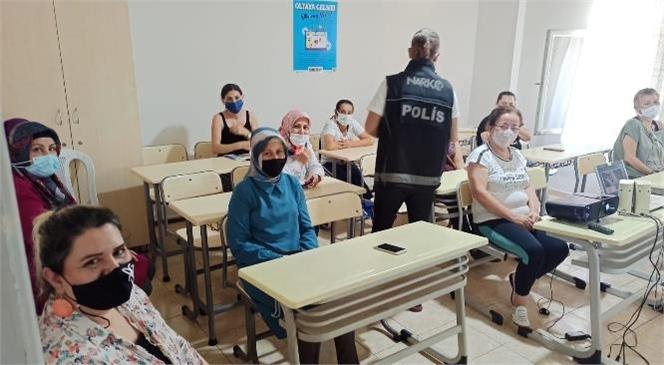 """Mersin'de """"En İyi Narkotik Polisi Anne"""" Projesi Eğitimleri Devam Ediyor"""