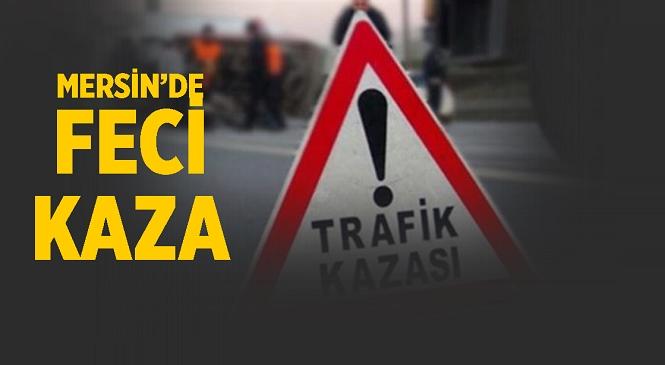 Mersin'in Tarsus İlçesinde Meydana Gelen Kazada Traktörle Çarpışan Motosiklet Sürücüsü Yaralandı