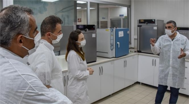 MESKİ Merkez Su Analiz Laboratuvarı'na Çukurova Üniversitesi'nden Ziyaret