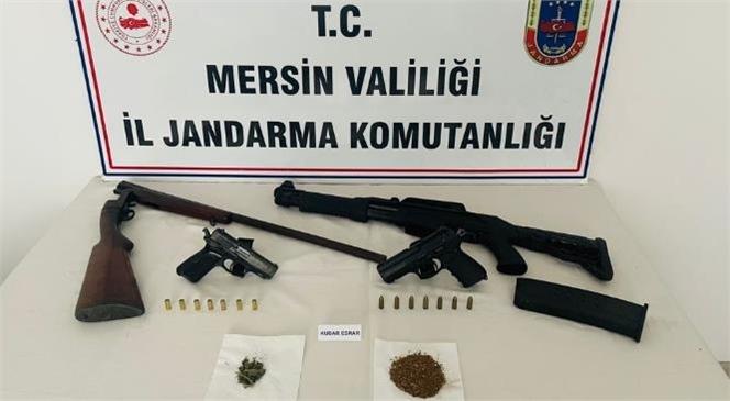 Mersin Anamur'da Uyuşturucu Ticareti Yapanlara Yönelik Düzenlenen Operasyonda 2 Şüpheli Gözaltına Alındı