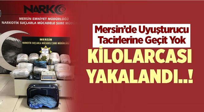 Mersin'de Uyuşturucu Tacirlerine Geçit Yok! Ekiplerin Yaptığı Son Operasyonda Kilolarca Uyuşturucu Madde Ele Geçirildi,1 Kişi Tutuklandı