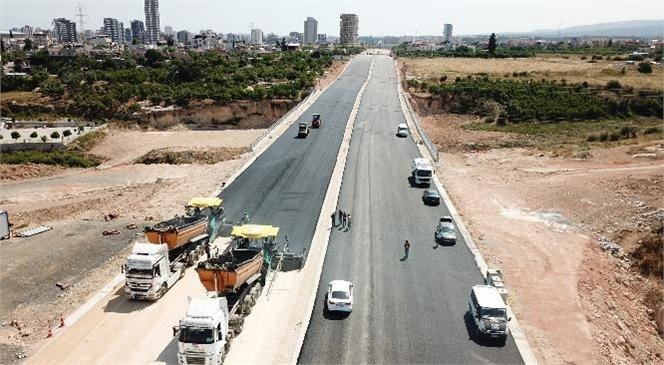 Mersin'de 4. Çevre Yolu Çalışmalarında Önemli Ölçüde İlerleme Sağlandı