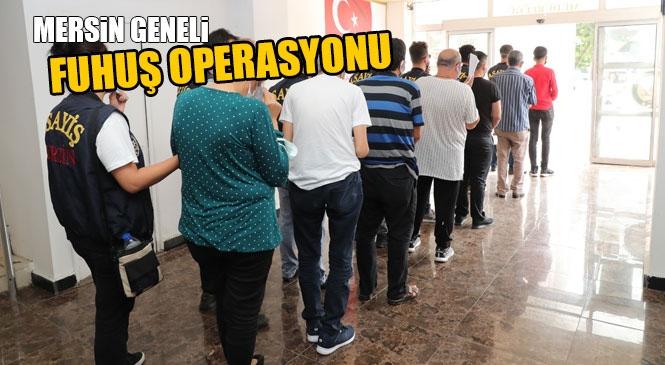 Fuhuş Operasyonu! Ahlak Büro Ekiplerinden Mersin Geneli Fuhuş Operasyonu: 4 Tutuklama