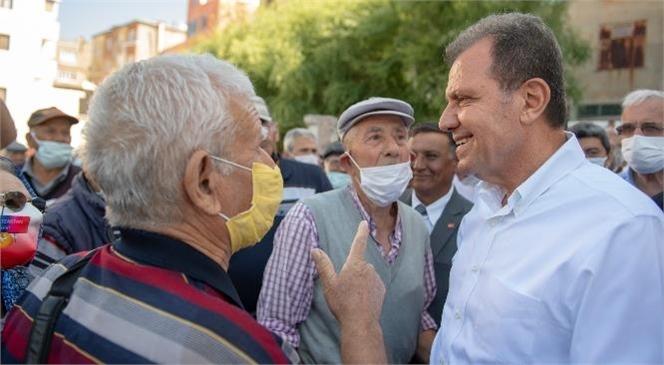 Mersin Büyükşehir Belediye Başkanı Seçer, Gülnar ve Silifke İlçelerine Yaptığı Çıkarmada Halkla Bir Araya Geldi