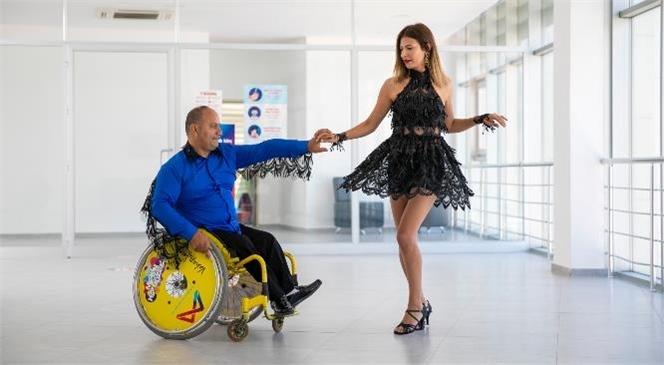Engeller Dans Etmeye Engel Değil! Mersin Büyükşehir'i Antalya'daki Dans Yarışmasında Kenan Özkan Temsil Edecek