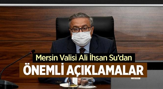 Mersin İl Koordinasyon Kurulu'nun '2021 Yılı 3'üncü Toplantısı' Vali Ali İhsan Su Başkanlığında Gerçekleştirildi