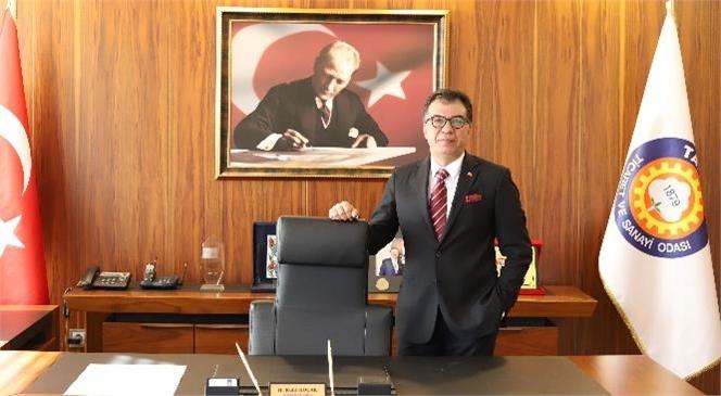 """İso Türkiye'nin İkinci 500 Büyük Sanayi Kuruluşu-2020"""" Araştırmasının Sonuçlarına Göre Listeye Tarsus Ticaret ve Sanayi Odası'na Kayıtlı 2 Firma da Yerleşti"""