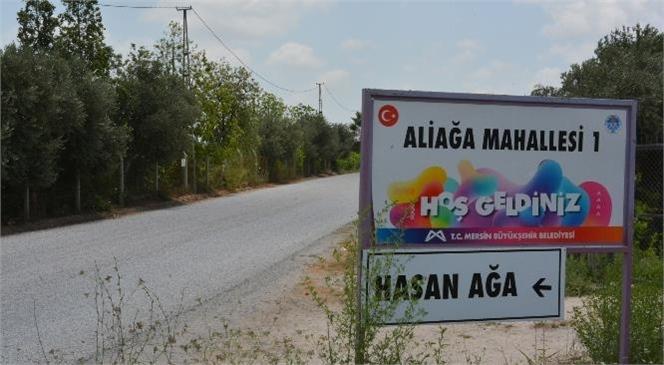 Tarsus'ta Aliefendioğlu-hasanağa Grup Yolu Büyükşehir Tarafından Yenilendi