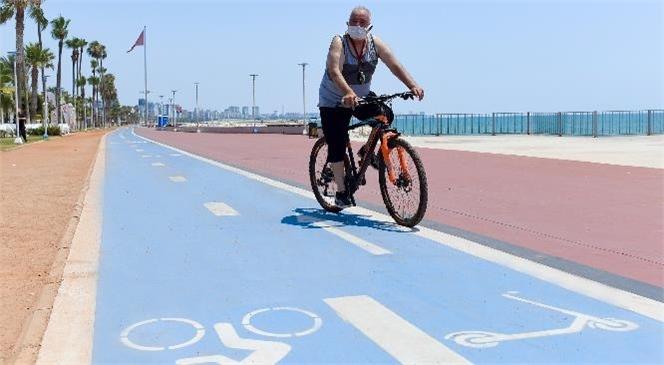 Mersin Büyükşehir, Bisiklet Yolunda Karşılaşılan Yaya ve Taşıt Engeline Karşı Çağrı Yaptı