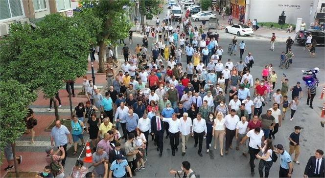 Başkan Seçer, Çamlıbel Kentsel Yenileme Projesi'nin Tanıtımını Yaptı